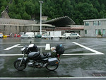 The French side of the Mont Blanc tunnel, at least in the tunnel it was dry :-/